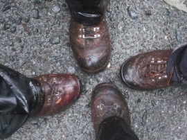 Muddy Feet!